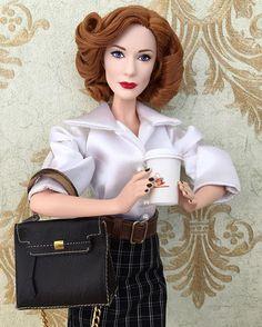 ☕️#barbiecollection ☕️#cateblanchett ☕️#coffee ☕️#dollphotogallery ☕️#fashionroyalty ☕️#makeup ☕️