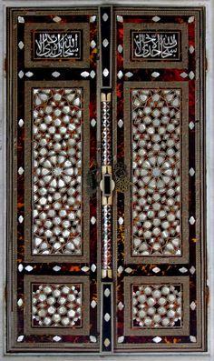 Mosaic door by Has'san. Topkapi palace- Istanbul.