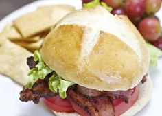 These Sourdough Sandwich Rolls are an excellent choic for burgers or sandwiches.