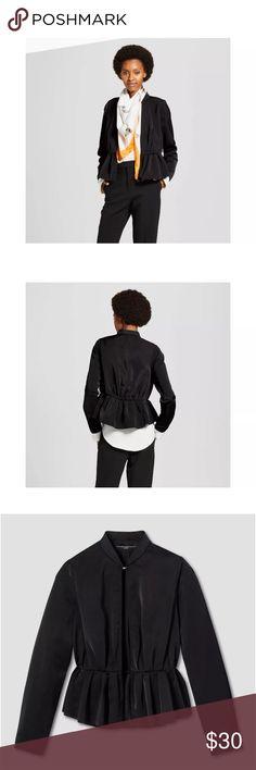 Victoria Beckham for Target Peplum Jacket Victoria Beckham for Target black peplum jacket size medium Victoria Beckham for Target Jackets & Coats