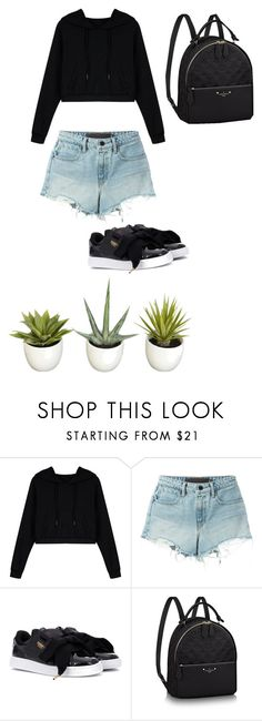 """""""days"""" by juliadb on Polyvore featuring WithChic, T By Alexander Wang and Puma"""