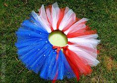 Fourth of July Firework Tutu Tutorial- SO COOL!