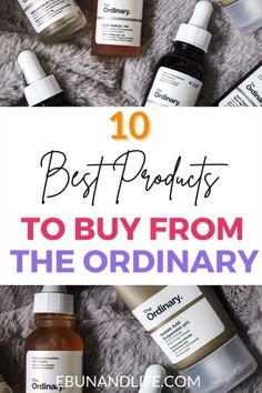 If you are looking to try The Ordinary Skincare for the first time, here are ten products that are worth your money.