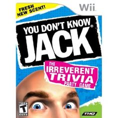 You Don't Know Jack - - The award-winning You Don't Know Jack game franchise is being reincarnated for the Xbox Wii and Nintendo DS platforms. Pop culture and high culture famously coll Wii Games, Xbox 360 Games, Trivia Games, Free Games, Party Games, Playstation Games, Trivia Questions, Nintendo Ds, Pop Culture Quiz