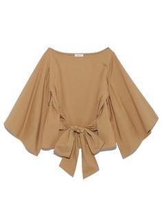 スリットスリーブブラウス(ブラウス)|FRAY I.D(フレイアイディー)|ファッション通販|ウサギオンライン公式通販サイト Shirt Blouses, Shirts, I Dress, Bell Sleeve Top, Feminine, Ruffle Blouse, Bridal, My Style, Womens Fashion