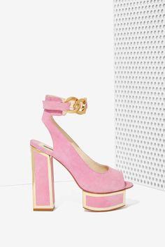 Kat Maconie Maya Suede Platform | Shop Shoes at Nasty Gal