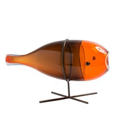 Mormora Sculpture in orange - Shop Scuola Abate Zanetti online at Artemest
