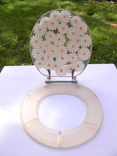 Items similar to Vintage Lucite Resin Toilet Seat - Clear Silver Foil Speckled Standard Size on Etsy Toilet Accessories, Home Decor Accessories, Glitter Toilet Seat, Wc Sitz, Diy Resin Crafts, Room Setup, Bathroom Inspiration, My Room, Diy Room Decor