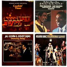  i  Howard McGhee Orchestra - Cooking Time  (VG+/VG+) - 475 грн.    Milt Jackson & Ray Brown & Cedar Walton & Mickey Roker - It Don't Mean A Thing If You Can't Tap Your Foot To It   (VG+/VG+) - 435 грн.    Al Cohn & Zoot Sims - Motoring Along   (VG+/VG+) - 395 грн.     Roland Kirk - Volunteered Slavery   (VG/VG) - 475 грн.       #Bop #CoolJazz #AlCohn #ZootSims #FreeJazz #RolandKirk  #newindiskultura #diskultura #TrueVinylRecordStore #kyiv #kiev #киев #київ #kyivshop #vinyl #винил #пластинки