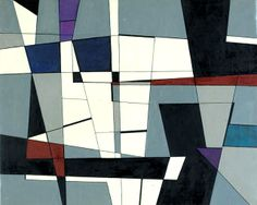 Roberto Crippa, Geometrico, 1950. Meeting Art, Italy