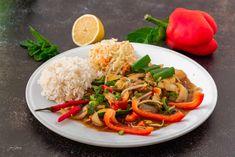 Thai Red Curry, Ethnic Recipes, Food, Fotografia, Essen, Meals, Yemek, Eten