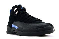 nike air jordan 12 nubuck blackwhiteblue sneakers p 2488 Blue Sneakers, Sneakers Nike, Nike Factory Outlet, Nike Air Max, Air Jordan 12 Retro, University Blue, Air Jordan Shoes, Casual Shoes, Air Jordans