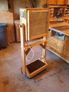 Shop Fan/Air Filter #woodworkingshop