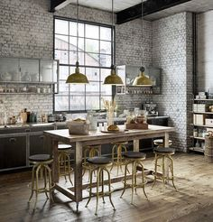 So...totally industrial! That's also a loft...