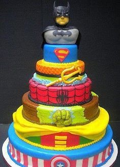 Avengers Cake.