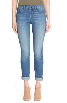 A slimmer take on the slouchy boyfriend silhouette, these comfy stretch-denim jeans need to be in every wardrobe. Picked up from the #NSale!