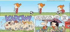 Tuesday's Top Ten: Soccer Comics! : Blog | Comics Kingdom - Comic Strips, Editorial Cartoons, Sunday Funnies, Jokes