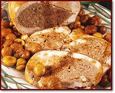Ricette  >  Abruzzo  >  Secondi: Tacchino con le castagne