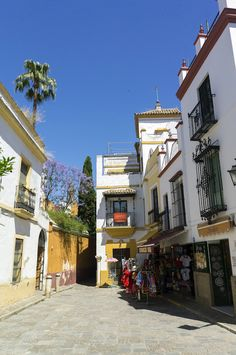 Jewish Quarter in Seville. A lovely place to get lost in while travelling!