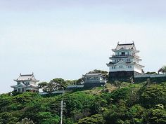 Hirado Castle, Hirado City Hirado City, Matsuura City & Kitamatsuura District Castle ruins, temples and shrines I'm not going to actually go inside these castles  as i'm only going to visit one castle in Japan but  i will     go and check out its exterior.