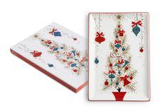 Rosanna Inc - Vintage Holiday Tree Tray