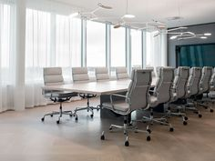 Meeting room. Interior design by Sistem Interior Architects.