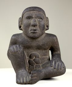 Nuestra única pieza precolombina Macehuali, de la colección Museo Gómez-Moreno. https://www.youtube.com/watch?v=bsuIX_KSvU0 Foto: José R. Baena (Studiosur producciones)