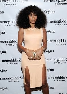I think we can call her Ms. Solange after this dress. #BOOM