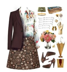 """there will come a day"" by zjunkmale ❤ liked on Polyvore featuring Hermès, Alice + Olivia, Kate Spade, Leticia Ponti, Allstate Floral, Kelly Wearstler, Herend, Miu Miu and vintage"
