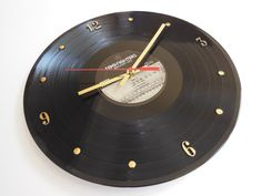 FOO FIGHTERS Record Clock Greatest Hits by RecordsAndStuff on Etsy, $28.00