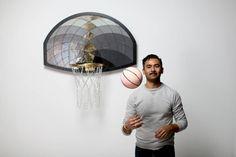 Turning Basket Ball Backboards into Artworks – Fubiz Media