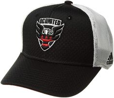 1946d258eb2ef adidas D.C. United Hat Authentic Structured Flex Fitted Hat