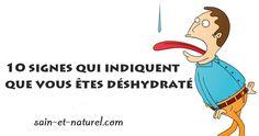 Êtes-vous déshydraté?Saviez - vous que 25% des enfants et des adolescents ne boivent pas d'eau quotidiennement? Un nombre surprenant d'adultes ne boivent