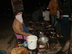Vietnam, on a 3 day Easy Rider tour LOVE the street food