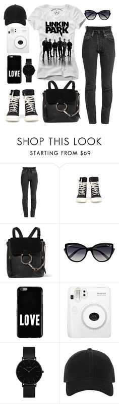 """""""LINKIN PARK❤"""" by nikitaku ❤ liked on Polyvore featuring Vetements, DRKSHDW, Chloé, La Perla, Givenchy, CLUSE and rag & bone"""