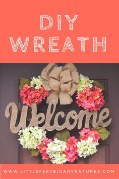 This DIY wreath was easy and simple to put together. I hope it inspires you to create your own DIY wreath. These would make wonderful gifts!