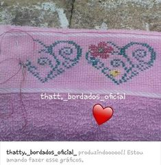 Embroidery Stitches, Rugs, Home Decor, Im In Love, Needlepoint, Embroidery, Farmhouse Rugs, Decoration Home, Room Decor