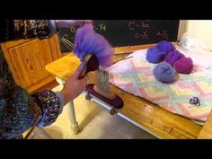 Combing & Carding For Gradient Color Spinning - by BlueMountainHandcrafts