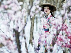Cherry Blossom Editorials - The Photoshoot by Danil Golovkin for Collezioni Magazine is Exotic (GALLERY)