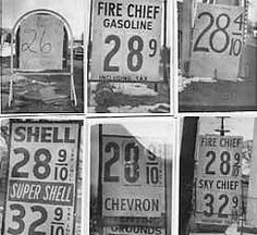 60's Gas wars  Remembering 28 cents a gallon... and cars that got 11 mpg.