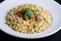 Coquillettes au poulet et Boursin WW, recette d'un savoureux plat crémeux de coquillettes façon risotto très facile à faire pour un repas sain et léger.