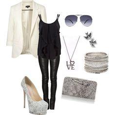 fashion, rockers, peanut butter bars, accessori, outfit, leather leggings, leather pants, shoe, rocker chic