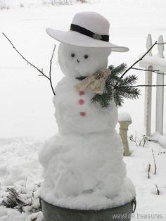 Wayside Treasures: Winter brings out the kid in me