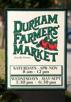 Durham, North Carolina  Farmers Market!