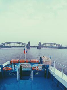 Большеохтинский мост (Мост Петра Великого) (Санкт-Петербург)