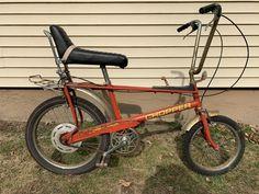 Vintage 70 s Raleigh Chopper Muscle Bike 3 speed Banana seat UK MKII burner Vintage Stuff, Vintage 70s, Banana Seat Bike, Raleigh Chopper, Old Ties, Retro Bicycle, Green Banana, Barn Finds, Selling On Ebay