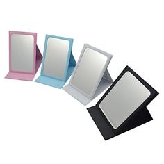 [CyberWeekSale]Tri-fold portátil espelho de maquiagem Cosméticos – BRL R$ 10,66
