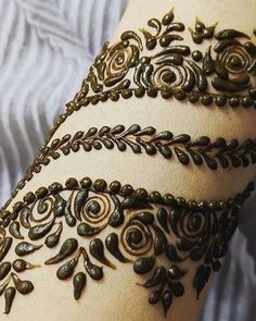 Best Mehndi Tattoo Design Inspirational idea 2019