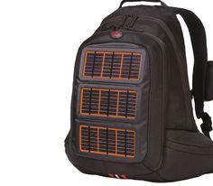 Solar Powered Travel Backpack