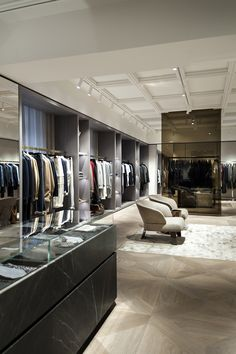 META- and studio based in Our renovation project for AMICIS men, multi-brand located in Fashion Store Design, Clothing Store Design, Modegeschäft Design, Clothing Studio, Luxury Store, Tailor Shop, Retail Store Design, Luxury Closet, Men Store